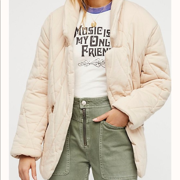 Free People Jackets & Blazers - Free People pillow jacket open front